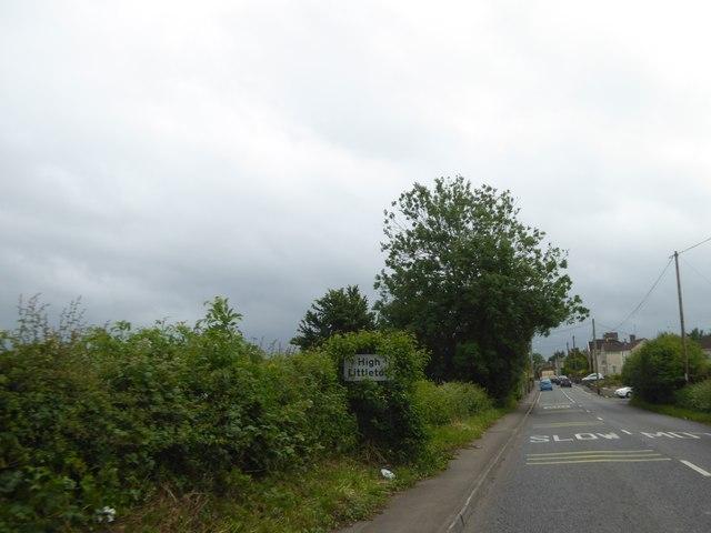 The green edge of High Littleton