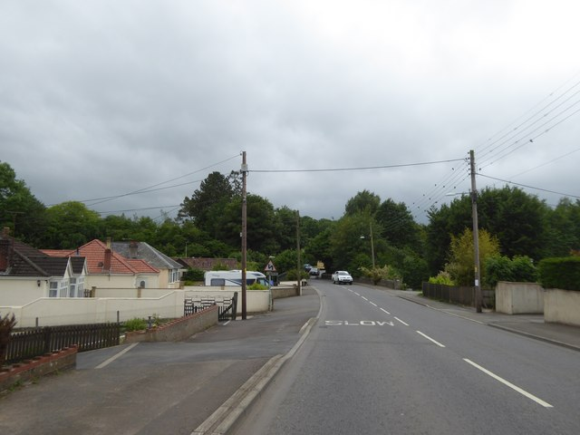 Wells Road (A39) in Hallatrow