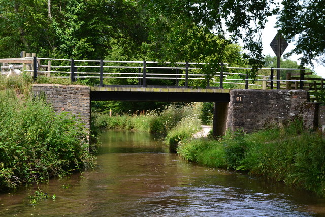 Bridge No. 61 on the Monmouthshire and Brecon Canal