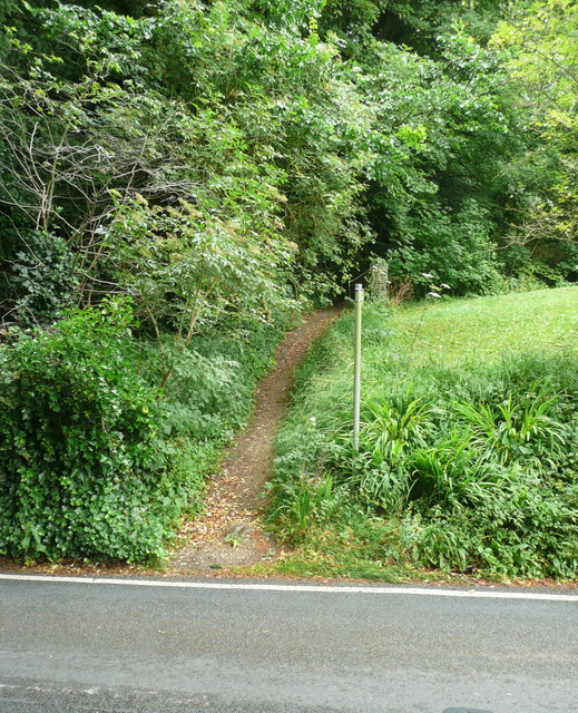 Footpath to Folly Lane at Slad Road