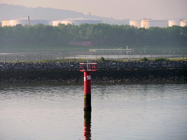 Marker Pile Number 18 and RSPB Reserve, Belfast Harbour