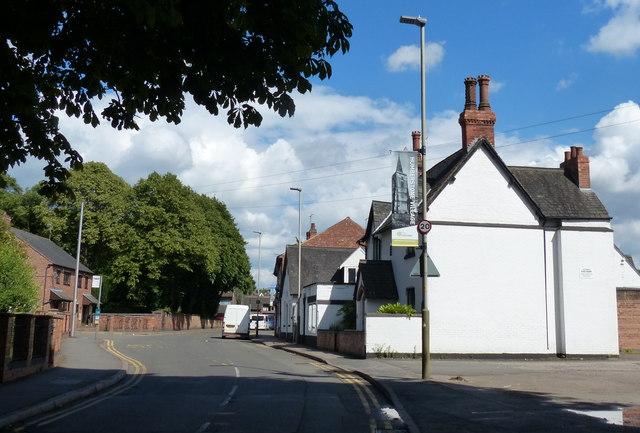 The Main Street in Humberstone