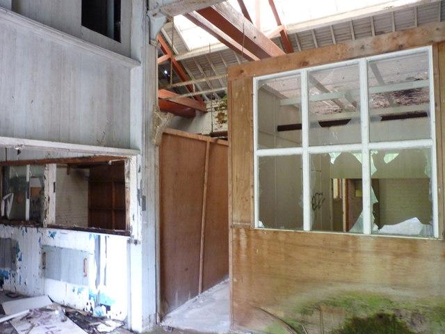 Derelict Building, Burcot (inside)