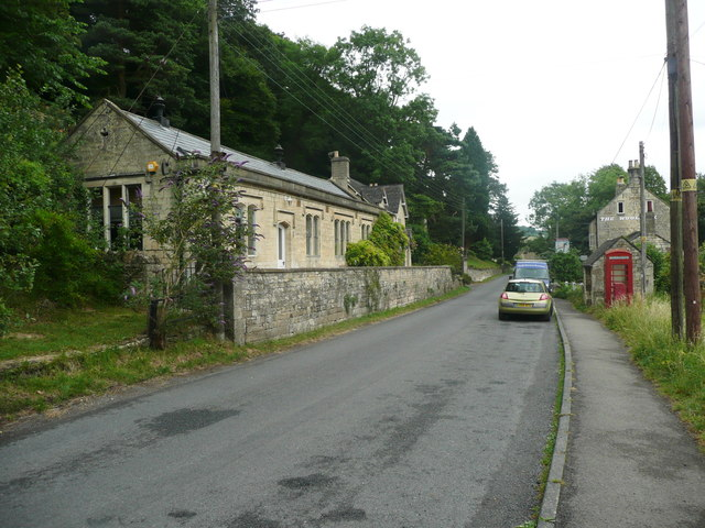 Former church school and school house, Slad