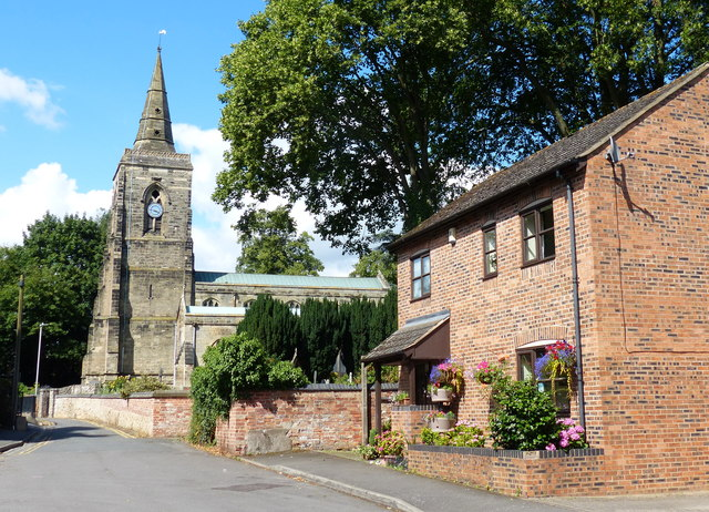 St Mary's church in Humberstone