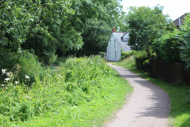 Canal side house, Monmouthshire & Brecon Canal, Cefn