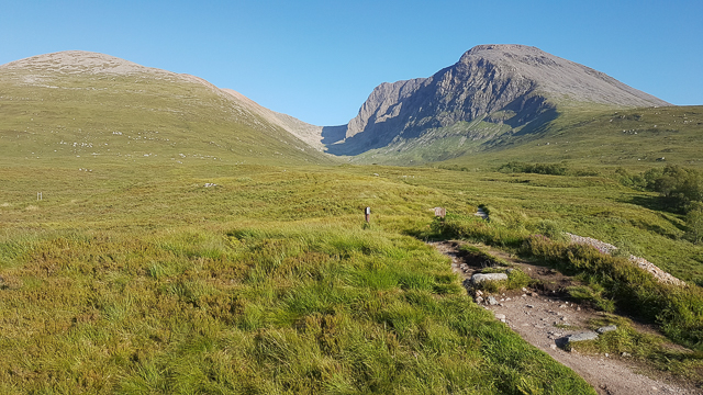 Trail towards the North Face of Ben Nevis