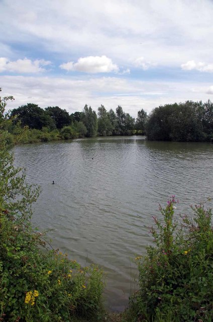 The Fishing Lake on Ashlins Farm
