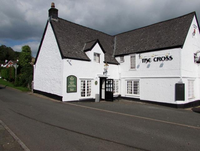 Northwest side of The Cross pub, Aylburton