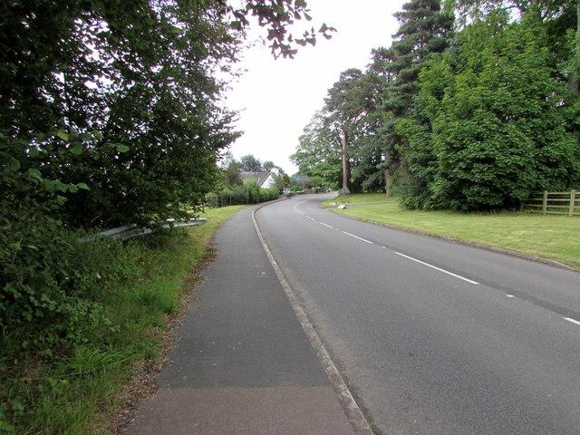 B4246 towards Govilon