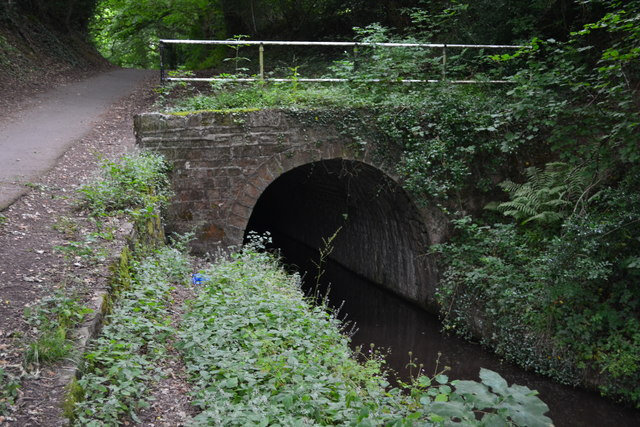 Northern portal of Cwmbran Tunnel