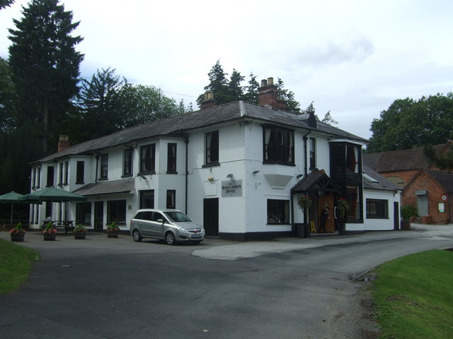 Old Rose & Crown Hotel, Lickey