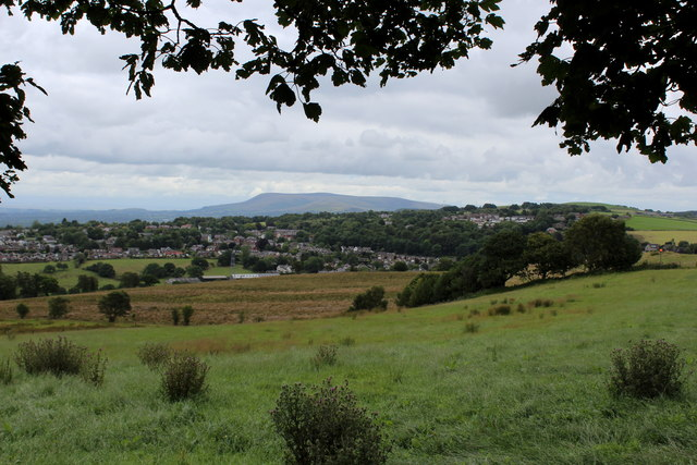 View towards Pendle Hill from Ramsgreave