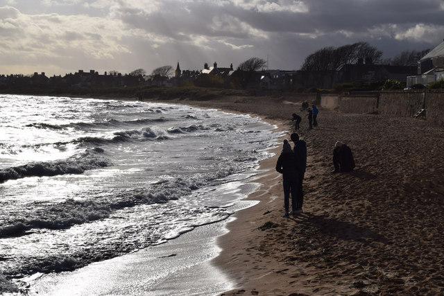 Elie beach, looking towards Earlsferry