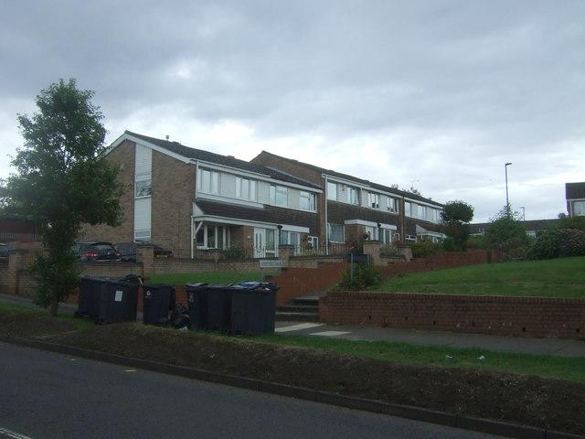 Houses on Rothley Walk