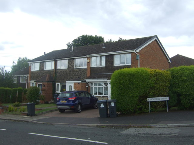 Houses on Highwood Croft, Kings Norton, Birmingham, B38