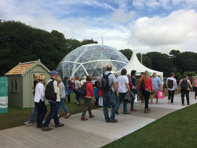 The Butterfly Dome at the RHS Tatton Park Flower Show 2017