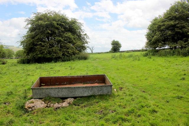 Site of Old Lead Mines Near Summerhill Farm