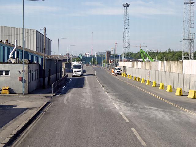 Port of Belfast, Dufferin Road