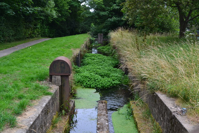 Monmouthshire and Brecon Canal: Five Locks