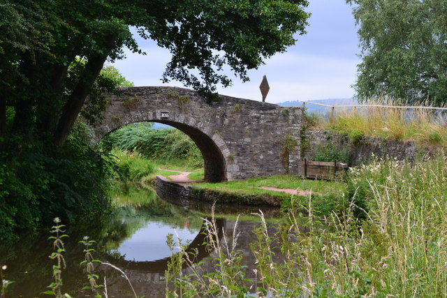 Bridge No. 105 on the Monmouthshire and Brecon Canal
