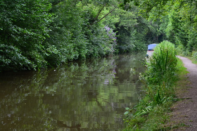 Monmouthshire and Brecon Canal near bridge No. 105