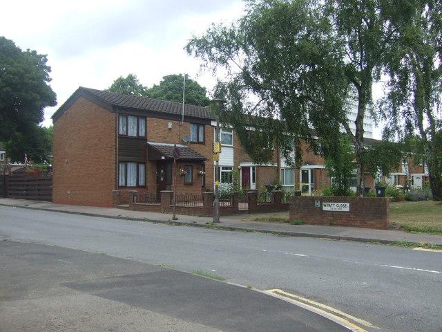 Houses on Wyatt Road, Edgbaston