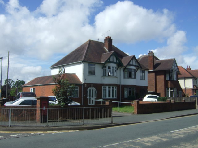 Houses on Bilford Road, Worcester