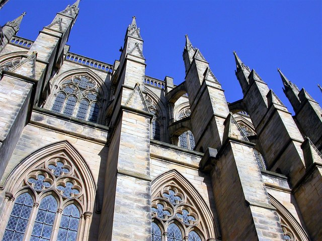 Flying buttresses, Lancing College chapel