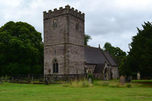 St Brynach Church, Llanfrynach