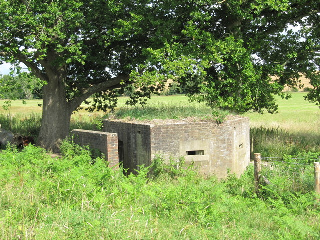 Pillbox near Sheffield Park