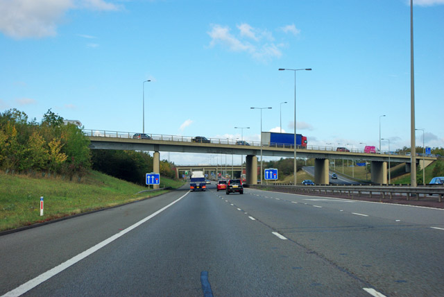 A1(M) junction 17