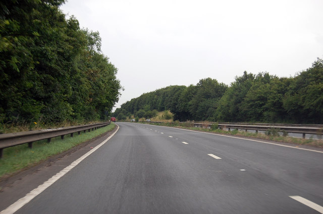 A361 north of Sampford Peverell