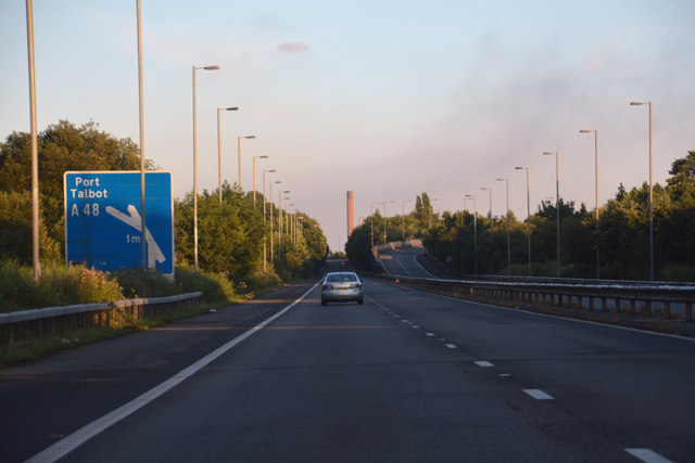 Port Talbot : M4 Motorway