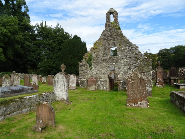 Front of Anwoth Old Kirk Dumfries and Galloway