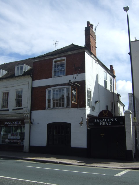 The Saracen's Head, Worcester