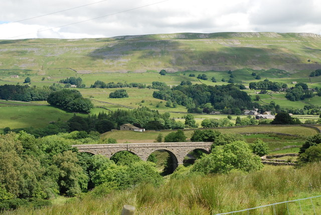 Viaduct near Appersett North Yorkshire