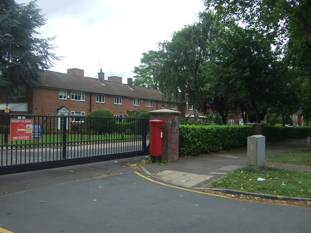 Gated community off Pershore Road