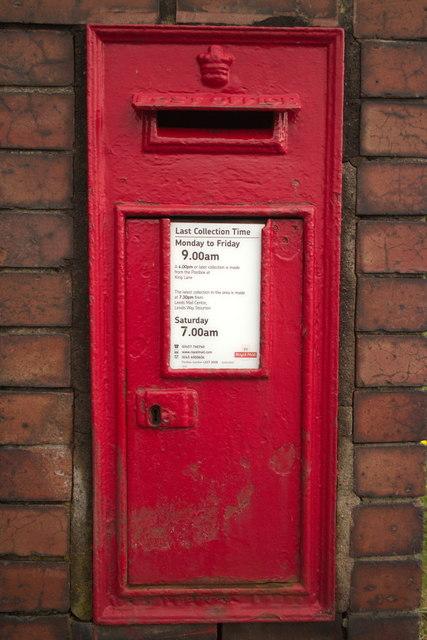 Anonymous Postbox, King Lane
