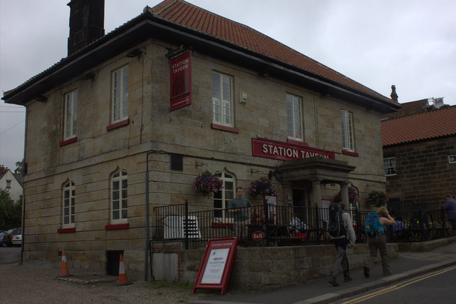 Grosmont. The Station Tavern