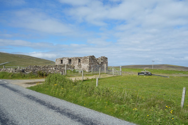 Ruined House by the Road