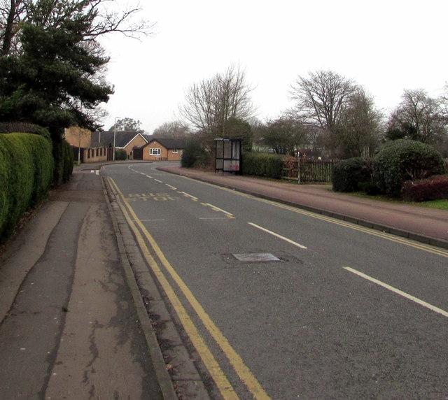 Along St James, Quedgeley