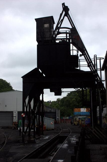 Grosmont coaling stage