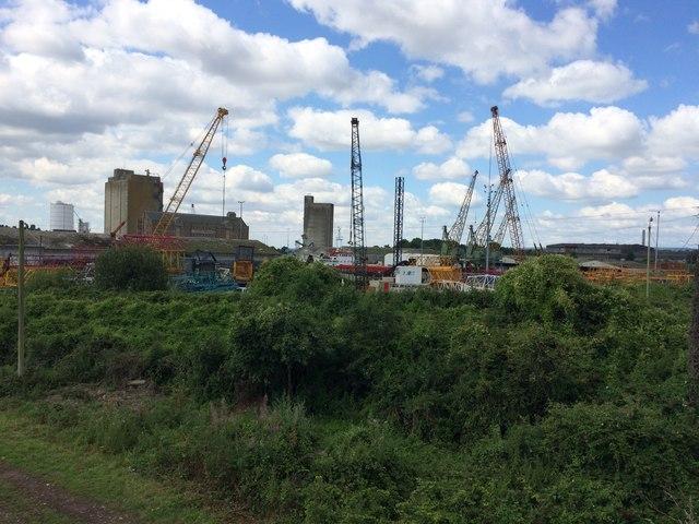 Cranes and Parts of Cranes