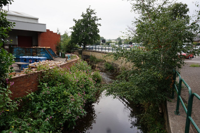 Spen River from Beck Lane, Heckmondwike