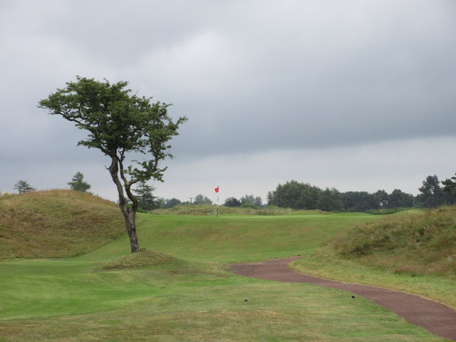 Monifieth Ashludie 3rd hole, Silver Jubilee
