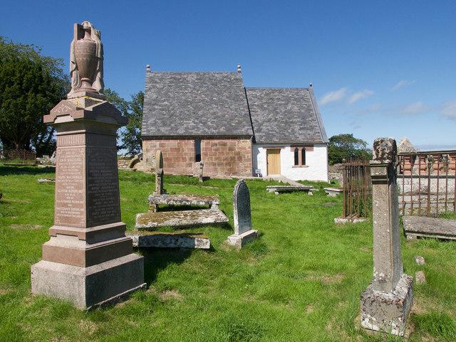 Kirkmichael after restoration