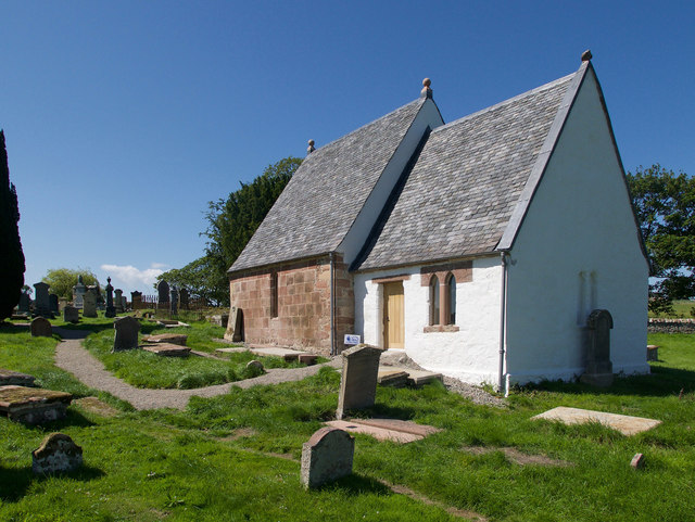 St Michael's Kirk after restoration