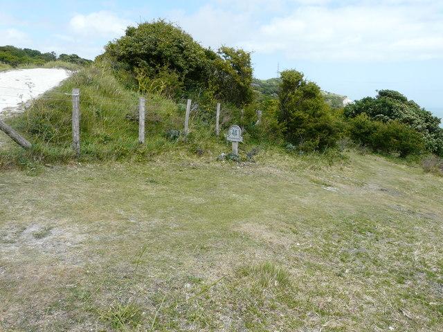 Site for a sculpture (A)