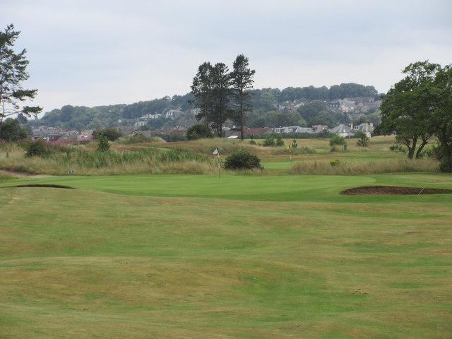 Monifieth Ashludie 5th hole, The Ridge
